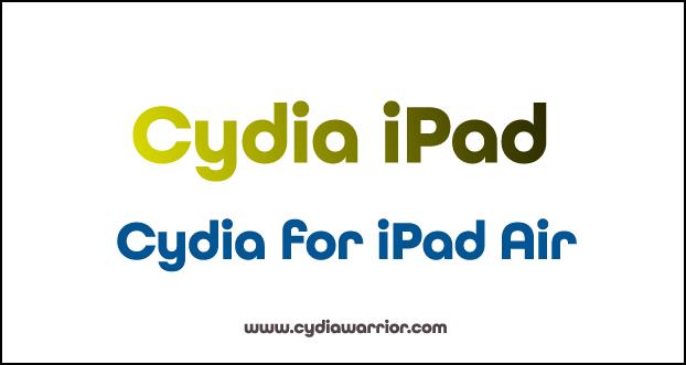 Cydia for iPad Air