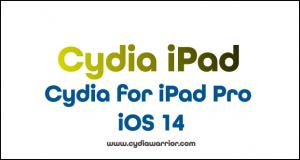 Cydia for iPad Pro iOS 14
