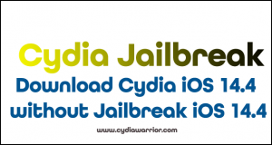 Download Cydia iOS 14.4 without Jailbreak iOS 14.4