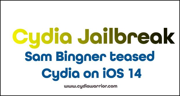 Sam Bingner teased Cydia on iOS 14