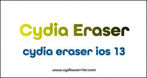 Cydia Eraser iOS 13