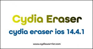 Cydia Eraser iOS 14.4.1