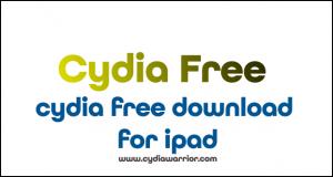 Cydia Free Download for iPad