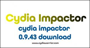 Cydia Impactor 0.9.43 Version