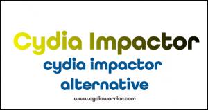 Cydia Impactor Alternatives