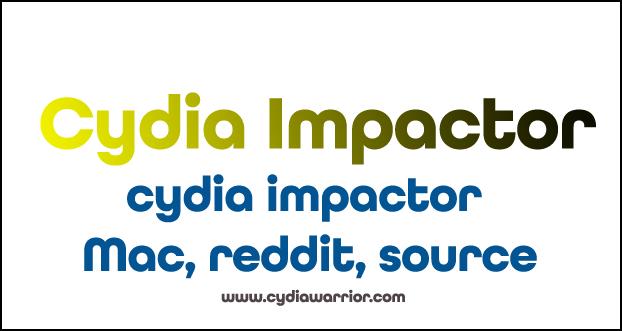 Cydia Impactor Mac