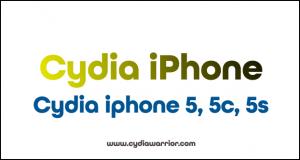 Cydia iPhone 5, 5C, 5S