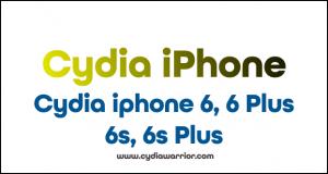 Cydia iPhone 6, 6 Plus, 6s, 6s Plus