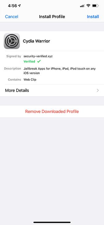cydia installation iphone