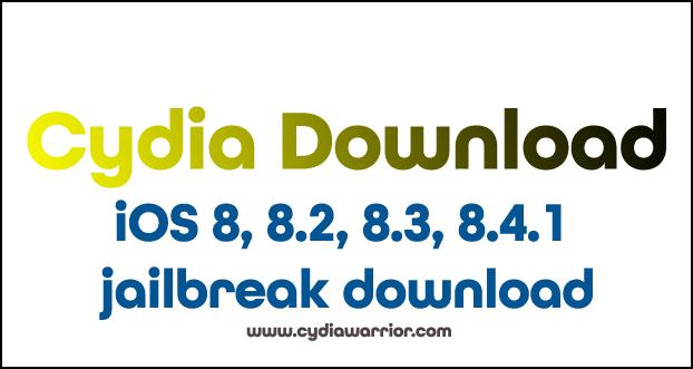 iOS 8.0- iOS 8.4.1 Jailbreak Download