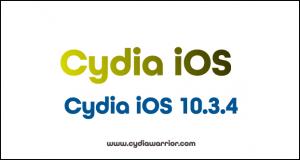 Cydia iOS 10.3.4