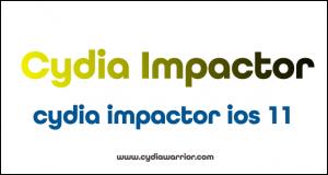 Cydia Impactor iOS 11
