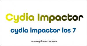 Cydia Impactor iOS 7