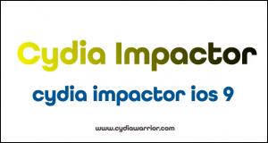 Cydia Impactor iOS 9