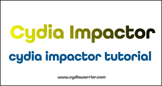 Cydia Impactor Tutorial