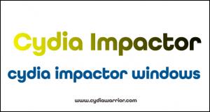 Cydia Impactor Windows