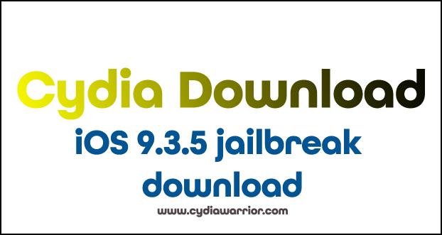iOS 9.3.5 Jailbreak Download