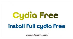 Install Full Cydia Free