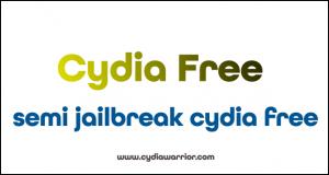 Semi Jailbreak Cydia Free